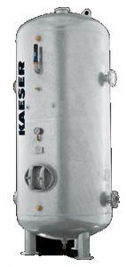 10000 Liter Druckluftbehälter stehend, verzinkt - 16 bar
