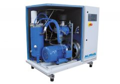 7,5 kW Schraubenkompressor (0,85 m³/min bei 13 bar) mit Trockner ALMIG Combi 8D