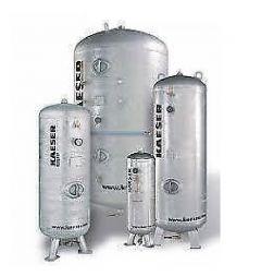 1000 Liter Druckluftbehälter stehend, verzinkt 11 bar