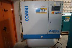 11kW Schraubenkompressor mit Trockner ALMIG Combi 11/270D