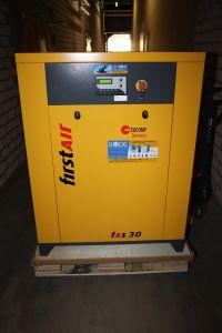 30 kW Schraubenkompressor 10 bar FirstAir FAS30