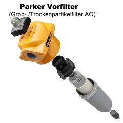 """1 1/2"""" PARKER Vorfilter AO (1 µm) bis 6,6 m³/min"""