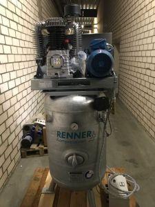 5,5 kW Kolbenkompressor - 10 bar RENNER RIKO 960/270 ST