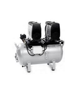 Jun-Air 2xOF1202-90B - Ölfreier Kompressor mit Behälter