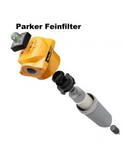 """1 1/2"""" PARKER Feinfilter AA (0,01 µm) bis 6,6 m³/min"""